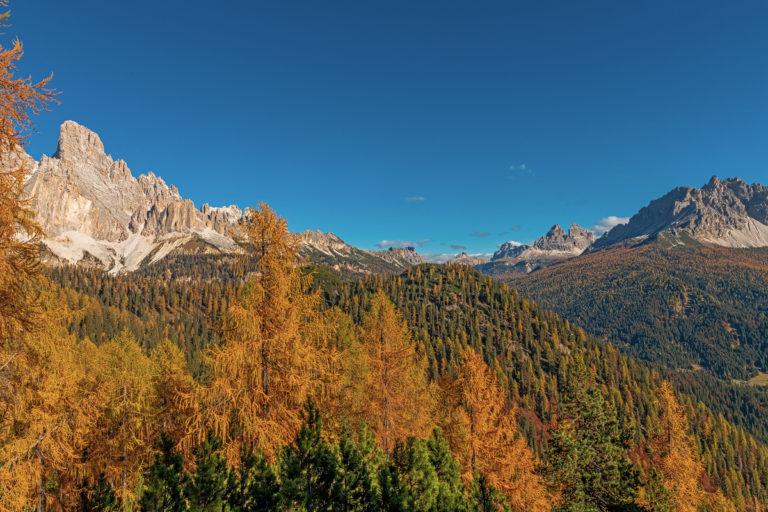 Dolomiten, Blick zu den tre Cime, Südtirol