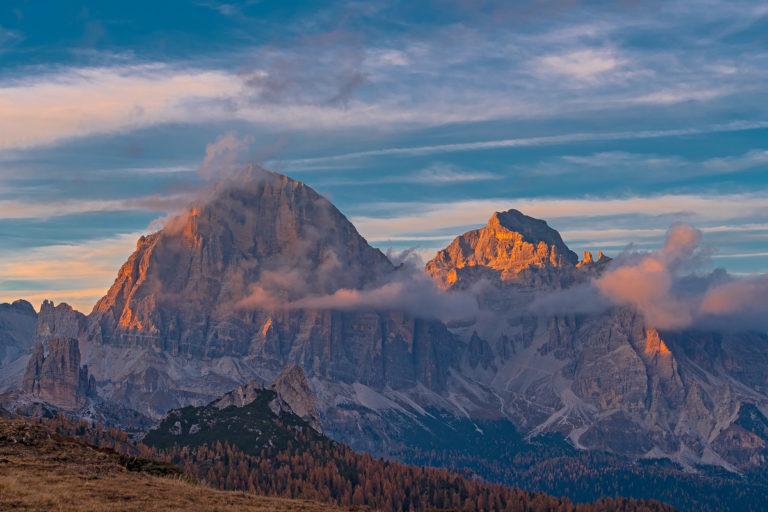Dolomiten, Tofana Gebirge, Südtirol, Dolomiten, Italien,Herbst
