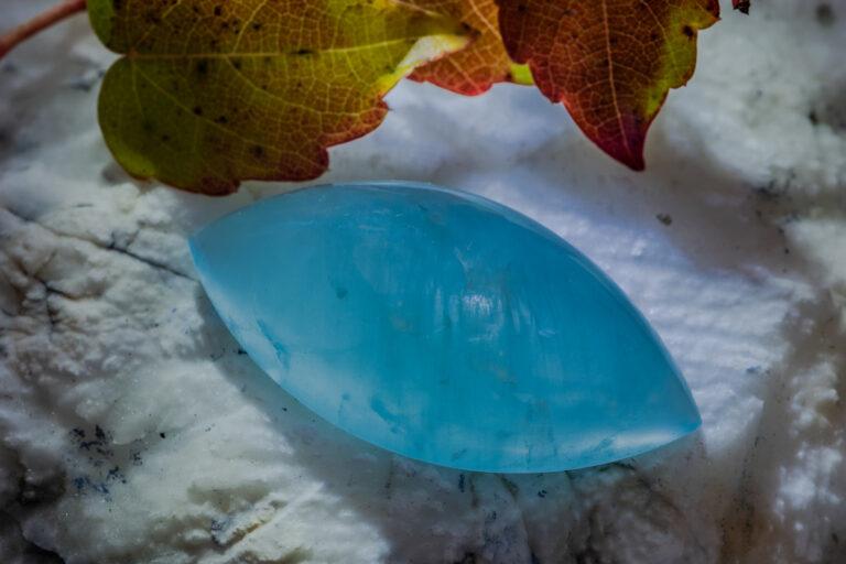 Aquamarin freier schliff
