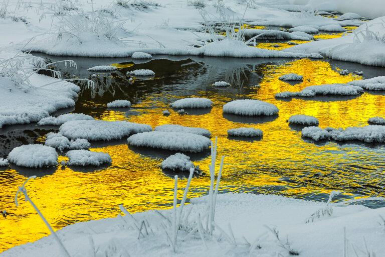 engadin goldenes wasser bei -32°