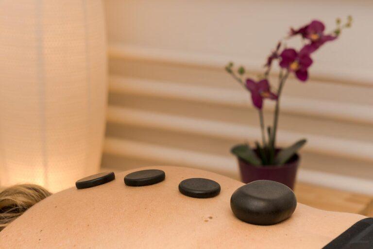 physiotherapie hot stone