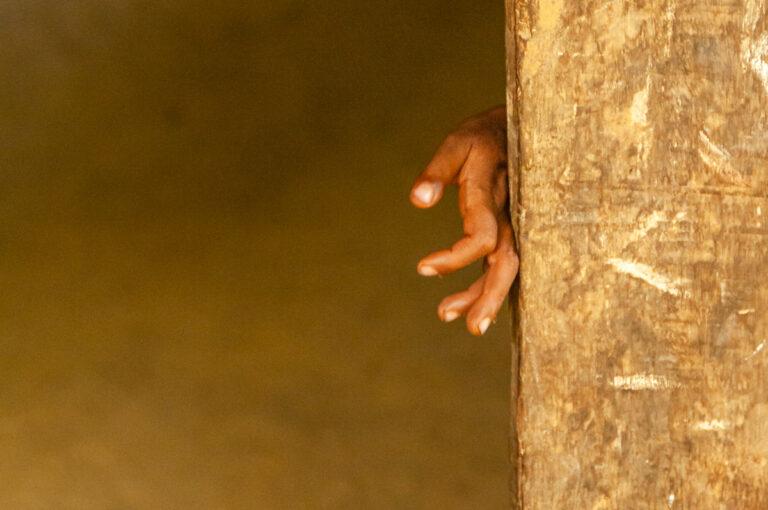 vedda child hand